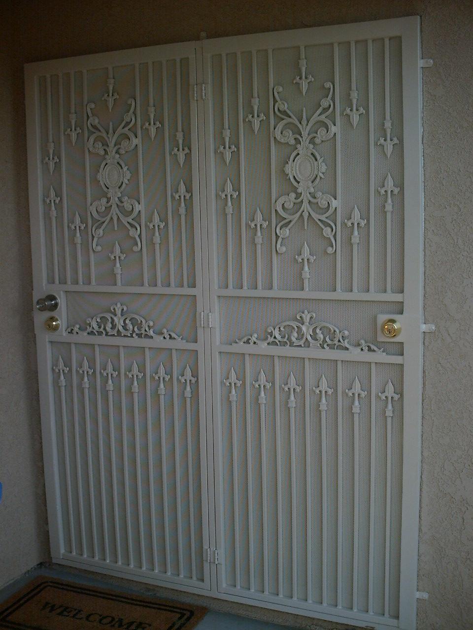 Patio Doors Condoor Security Wrought Iron Works