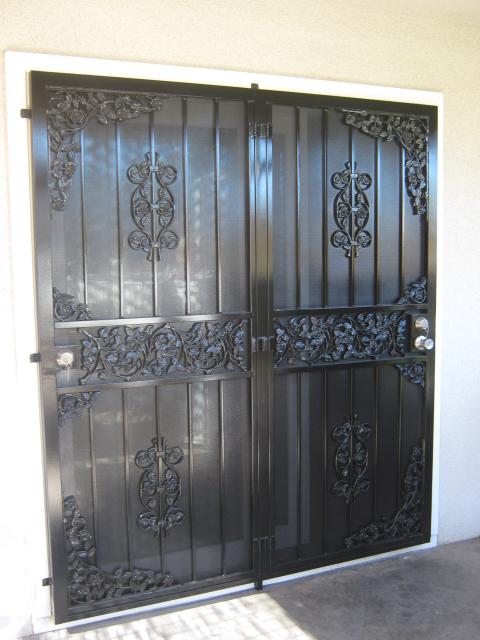 Patio Doors - Condoor Security Wrought Iron Works