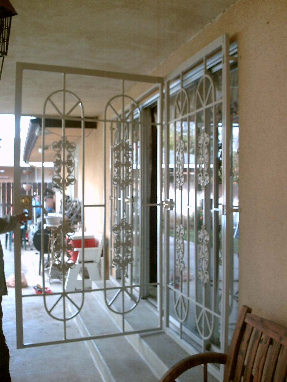 Patio Doors Condoor Security Wrought Iron Works