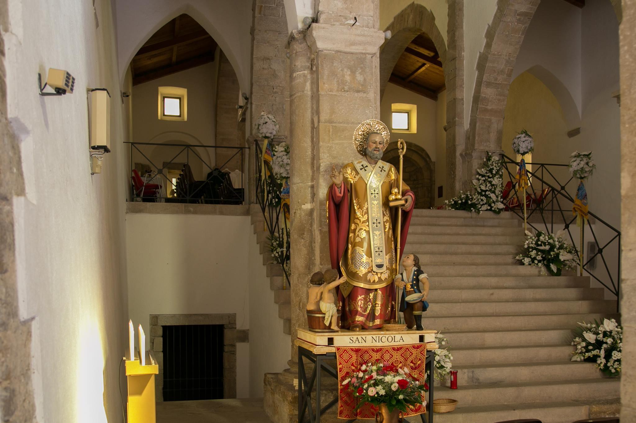 la chiesa di San Nicola. foto di nico tomasicchio