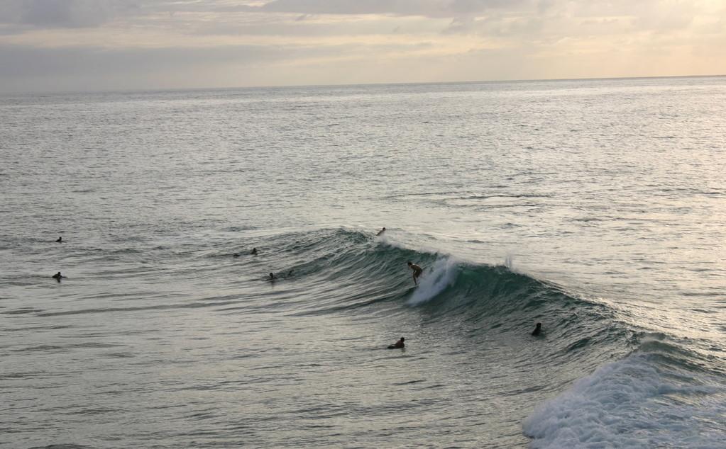 Big waves at Indicators in Rincon