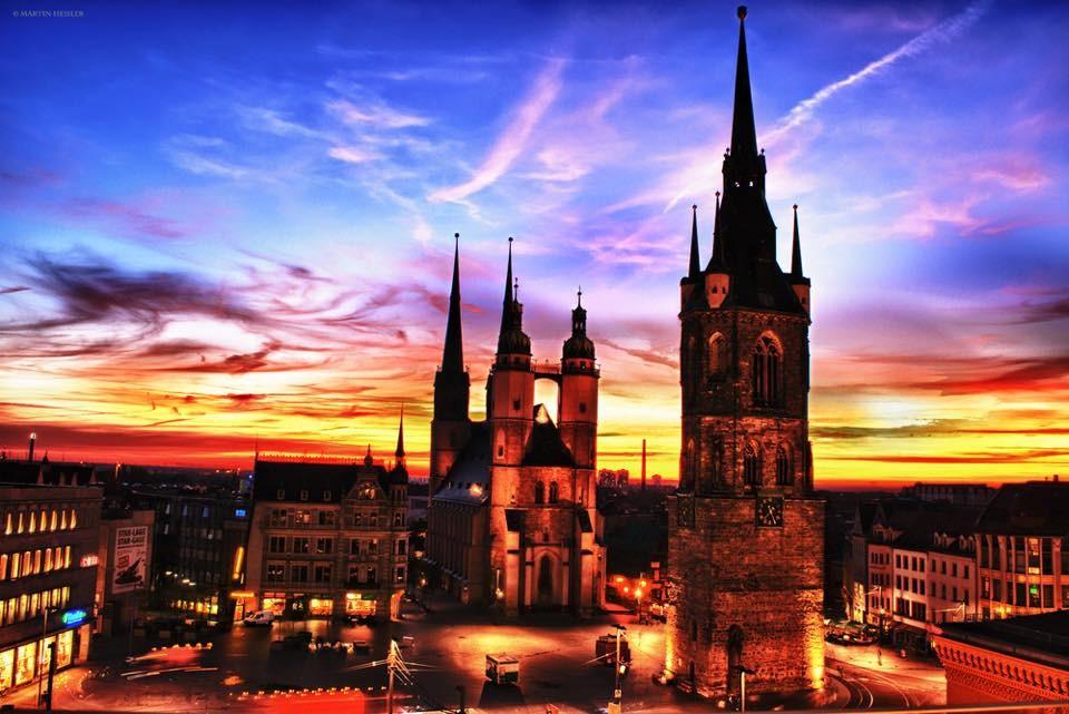 City | TangoTageHalle | Festivalito & Tango-Marathon | Volkspark | Halle (Saale)