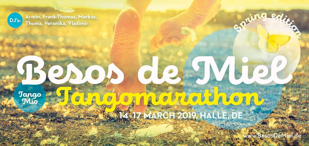 Besos de Miel | tangomarathon halle (saale) 2019 | spring edition | march 14-17 | halle [germany]