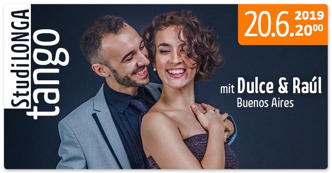 StudiLonga in Halle (Saale) mit Dulce & Raúl (BsAs), Donnerstag, 20.06.19, 20 Uhr
