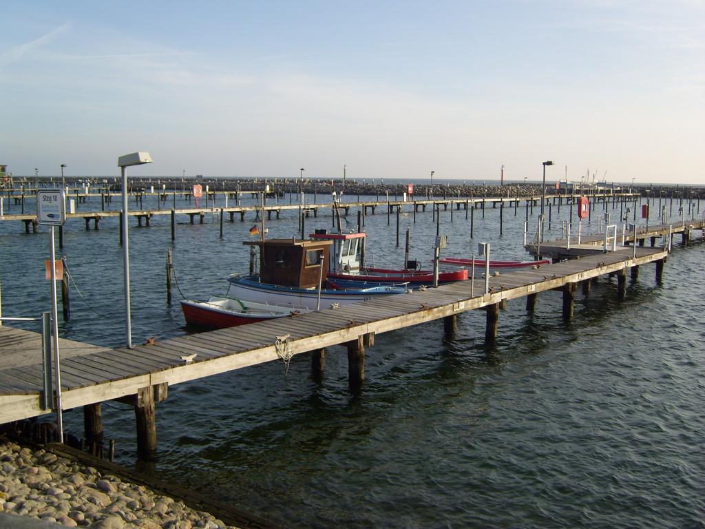 Yachthafen in Grömitz