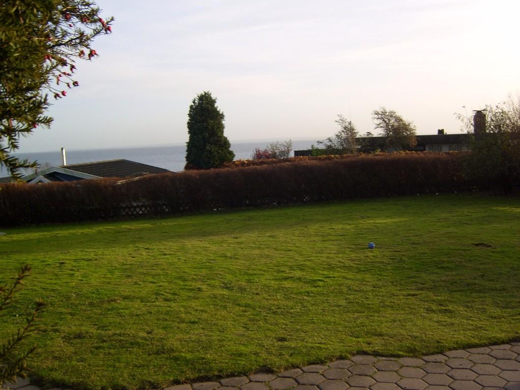 Der Garten unserer Ferienwohnung