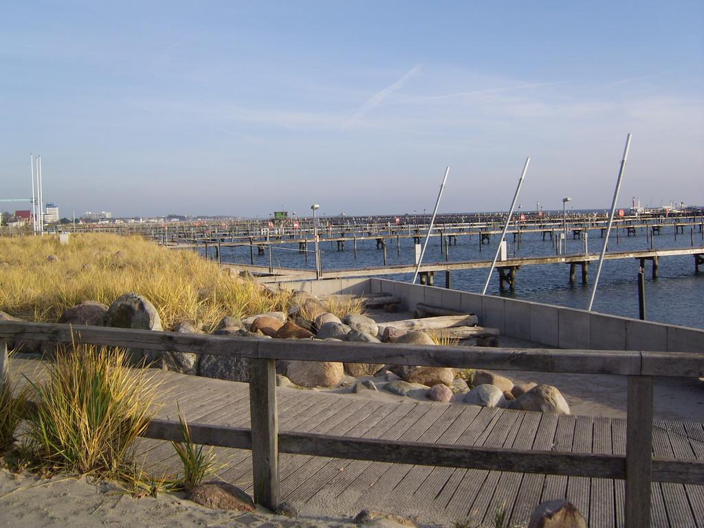 Der Jachthafen von Grömitz
