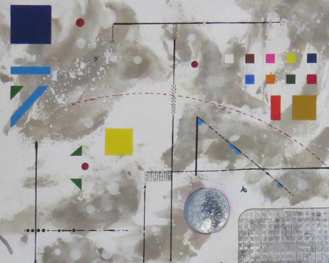 bunker sidéral - zoom1 - DALUZ GALEGO - peinture abstraite