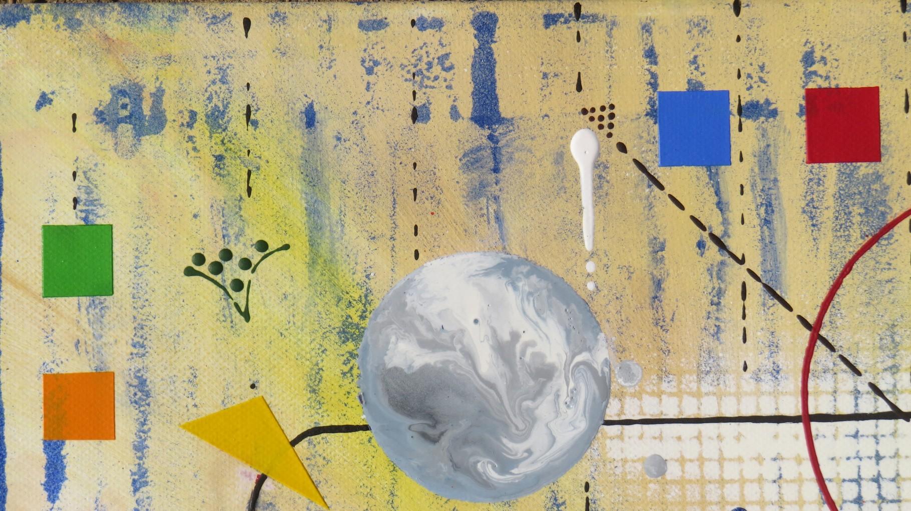 génération. zoom4 - daluz galego peinture tableau abstrait abstraction