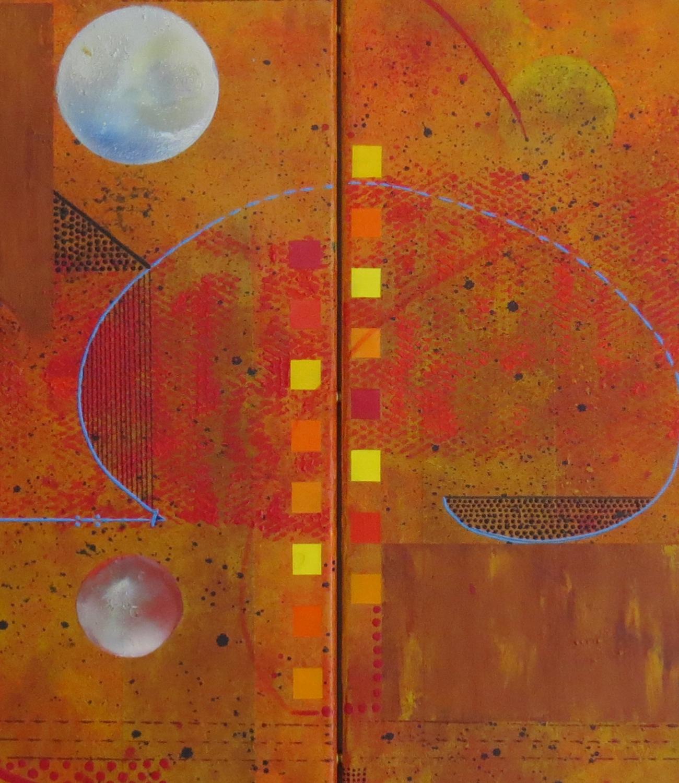 thêta - zoom5 - DALUZ GALEGO - peinture abstraite