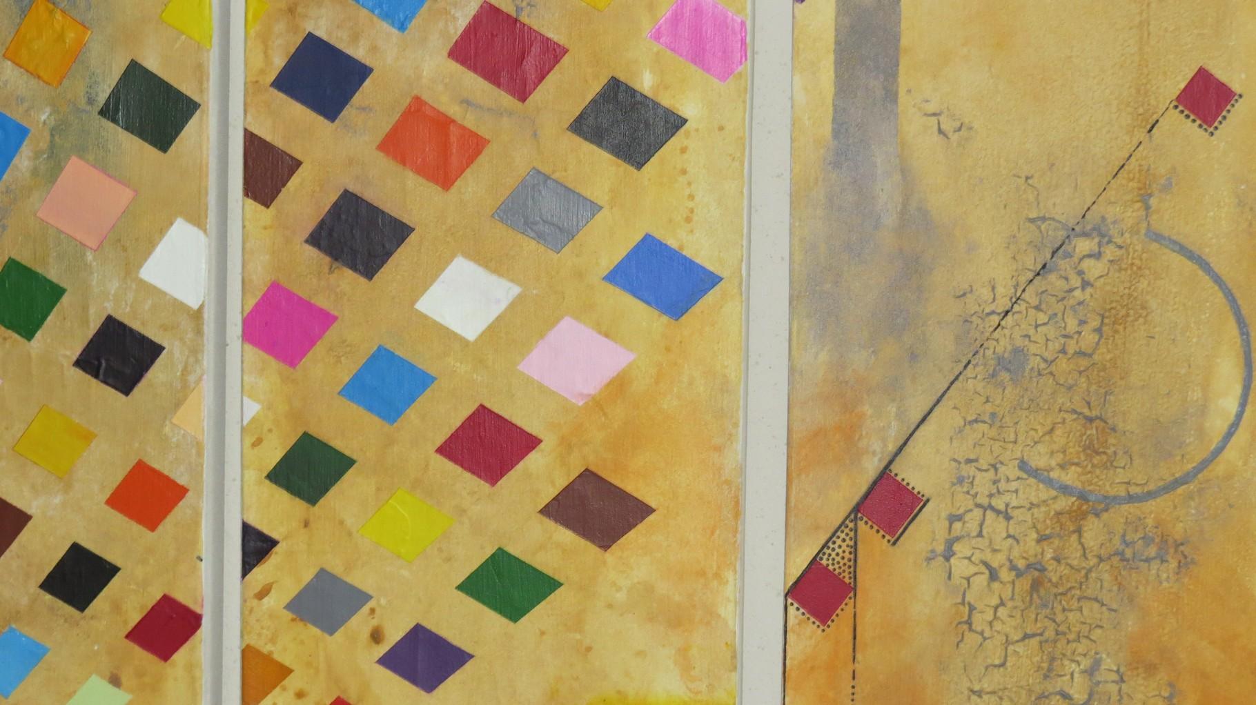 circuit imprimé zoom3 - daluz galego tableau abstrait abstraction