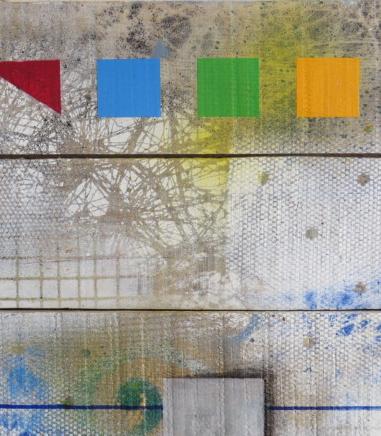 palissade daluz galego peinture tableau acrylique abstrait abstraction