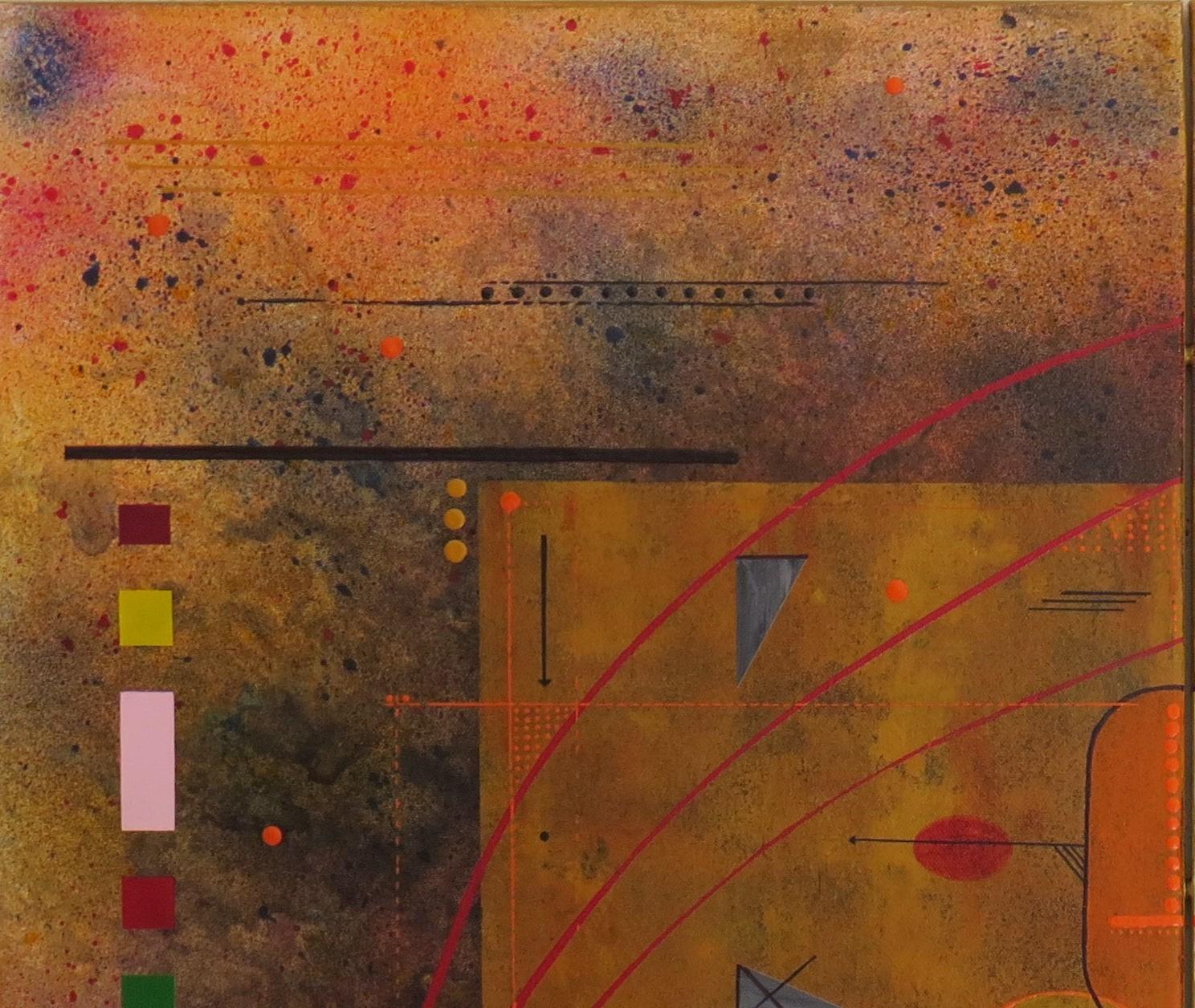 kappa - zoom3 - DALUZ GALEGO - peinture abstraite