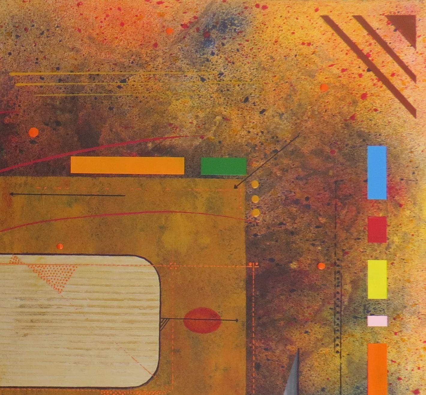kappa - zoom1 - DALUZ GALEGO - peinture abstraite