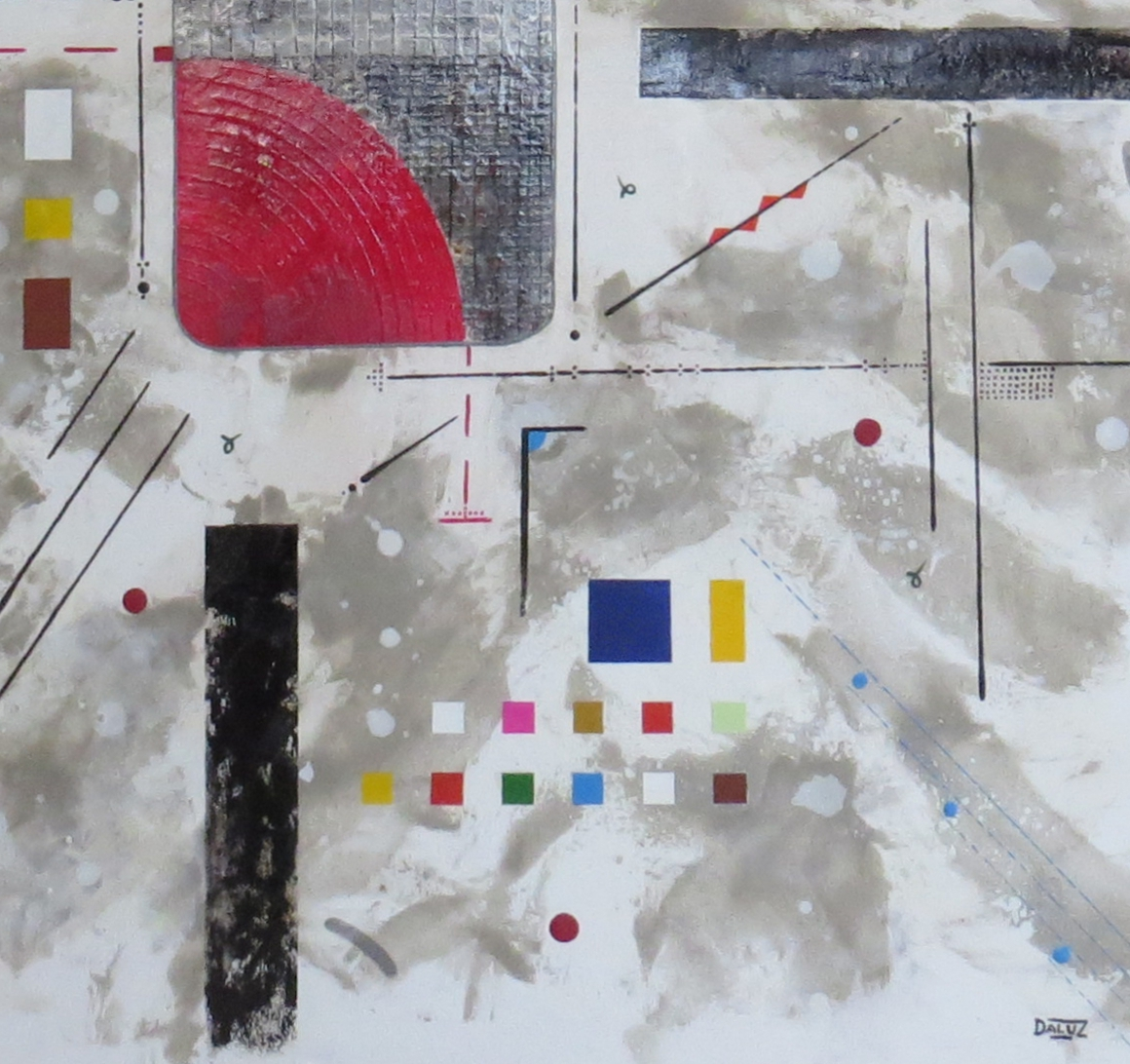 bunker sidéral - zoom5 - DALUZ GALEGO - peinture abstraite