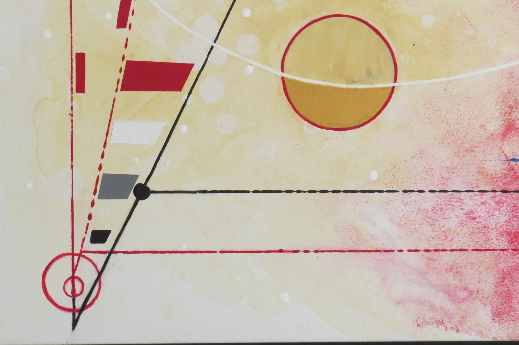 voie de l'art. zoom 2. tableau. abstrait. abstraction