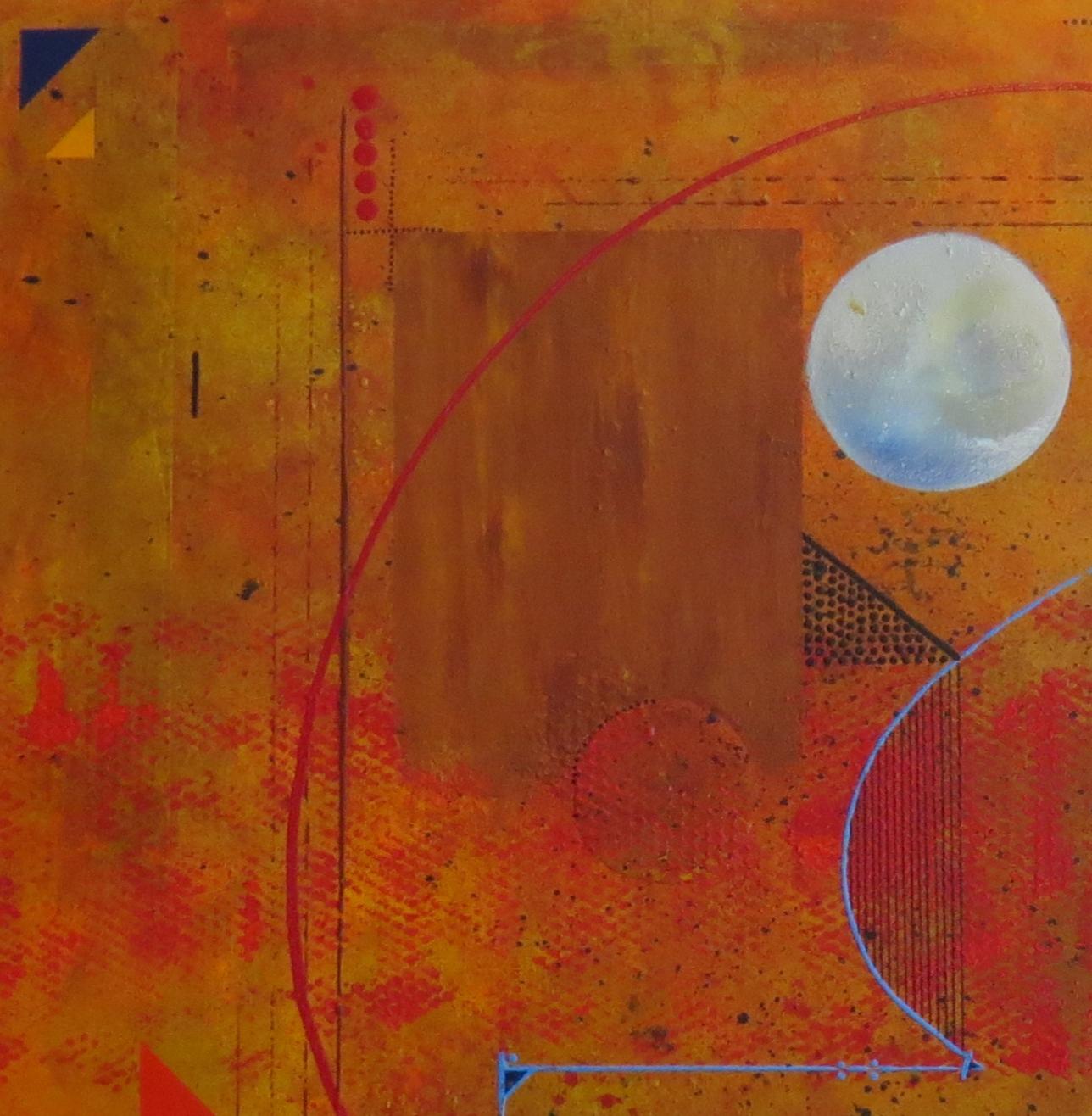 thêta - zoom1 - DALUZ GALEGO - peinture abstraite