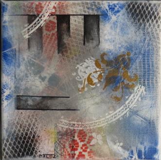 illusion daluz galego peinture tableaux abstrait abstraction