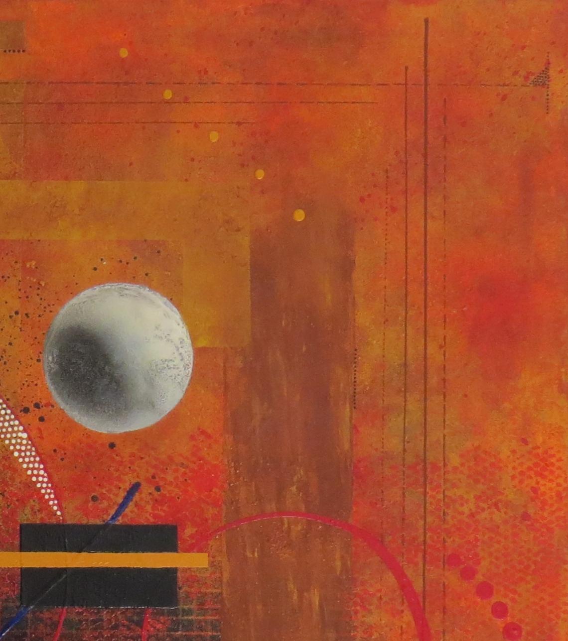 dzëta - vue zoom4 - DALUZ GALEGO - peinture abstraite