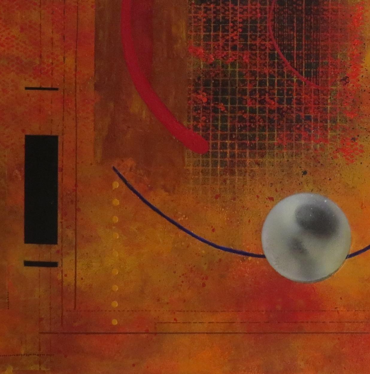 dzëta - vue zoom3 - DALUZ GALEGO - peinture abstraite