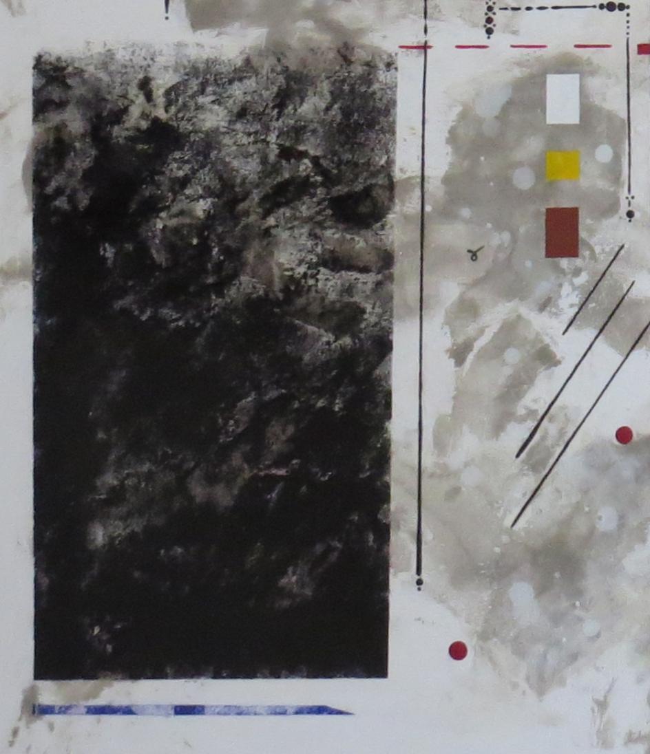 bunker sidéral - zoom2 - DALUZ GALEGO - peinture abstraite