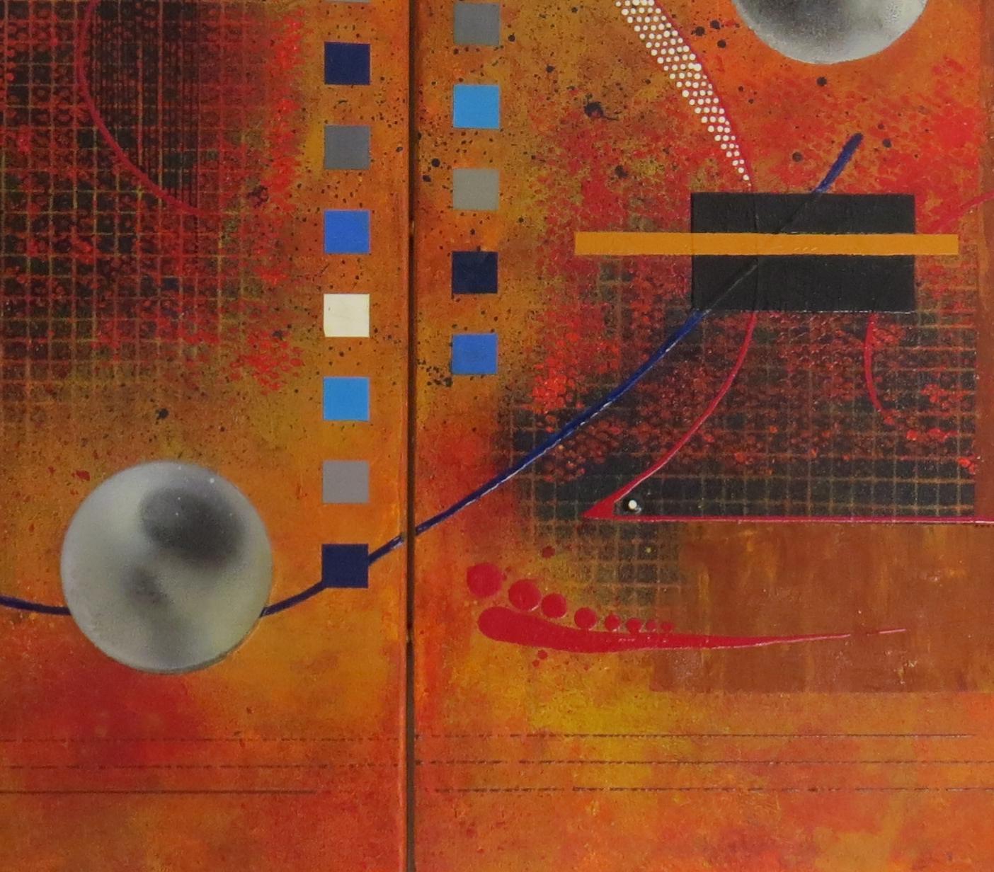 dzëta - vue zoom5 - DALUZ GALEGO - peinture abstraite