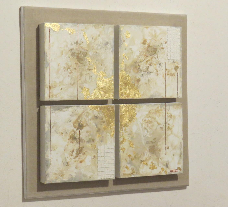 archipel vue côté1. tableau. abstrait. abstraction