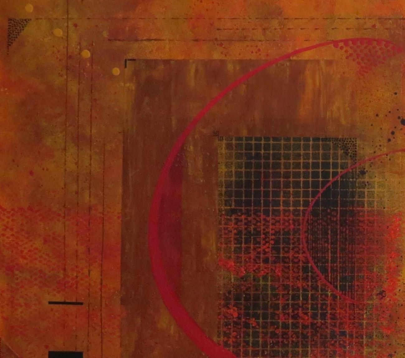 dzëta - vue zoom2 - DALUZ GALEGO - peinture abstraite