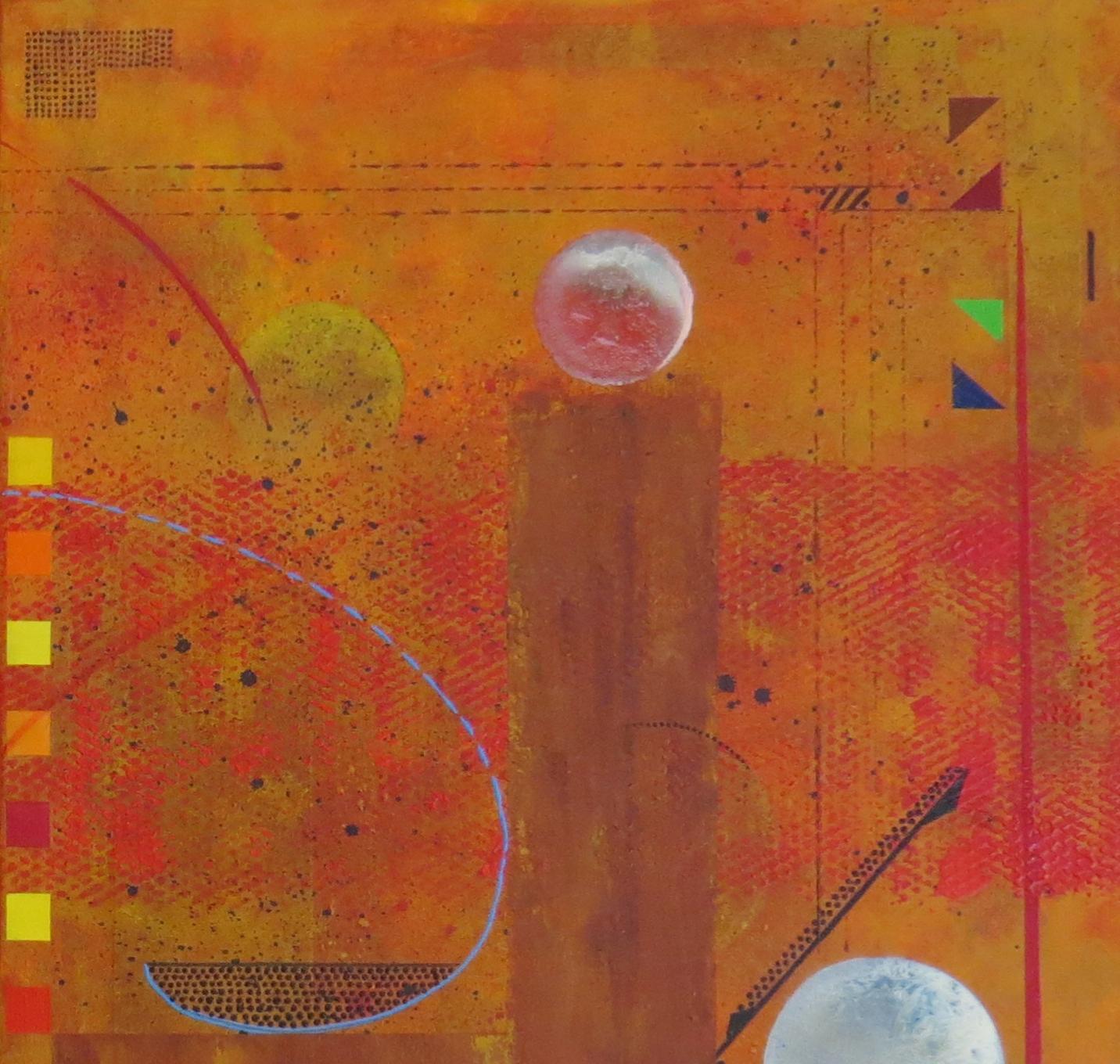 thêta - zoom2 - DALUZ GALEGO - peinture abstraite
