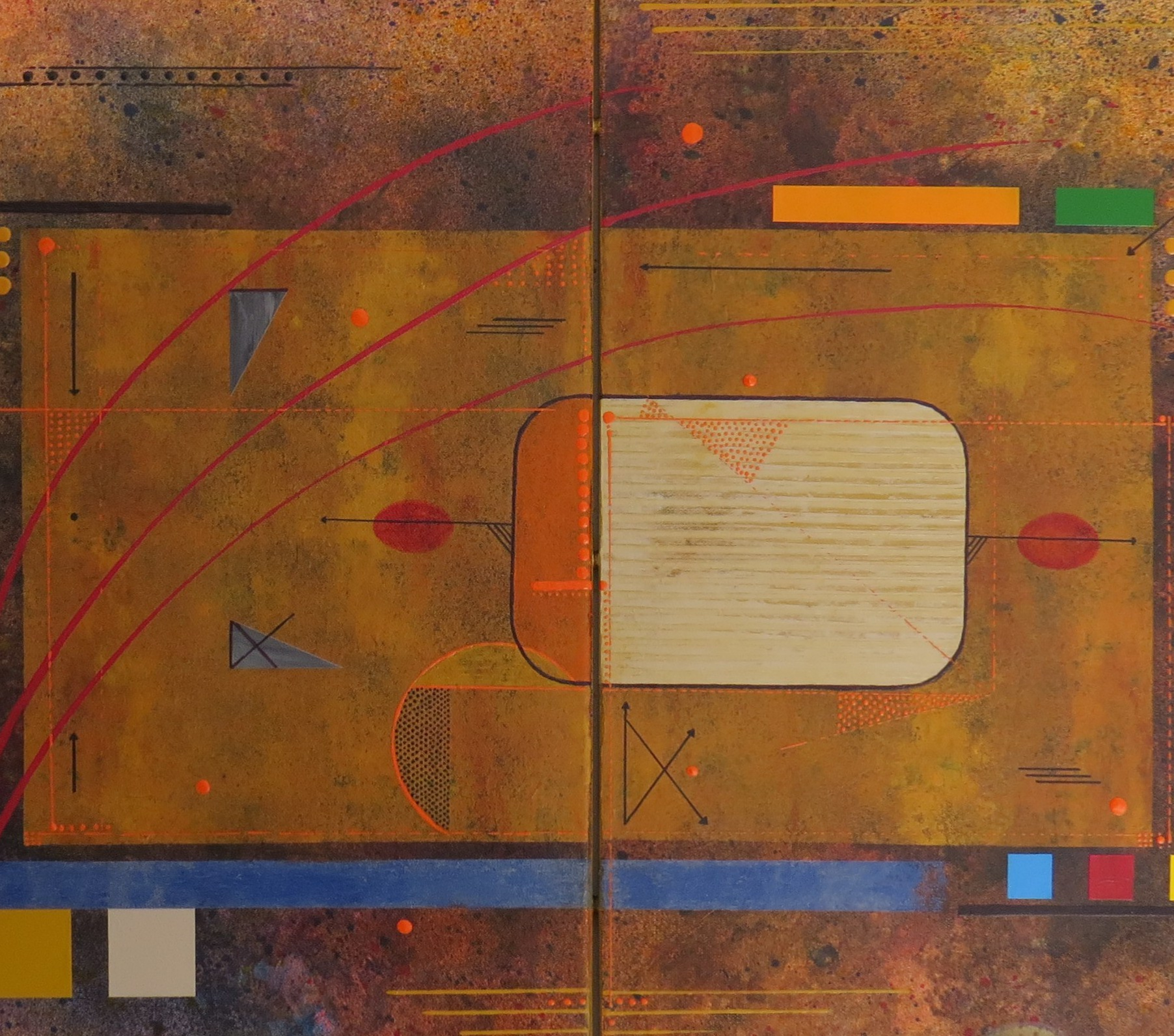 kappa - zoom5 - DALUZ GALEGO - peinture abstraite