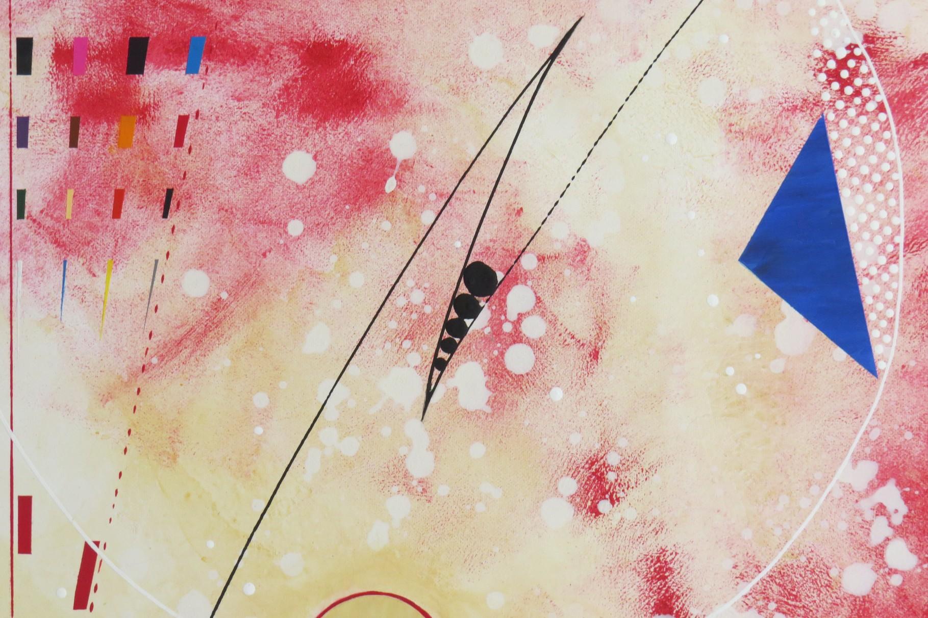 voie de l'art. zoom 4. tableau. abstrait. abstraction