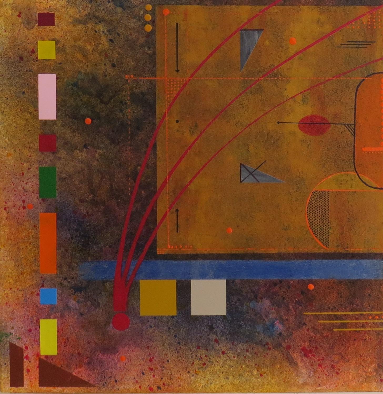 kappa - zoom4 - DALUZ GALEGO - peinture abstraite