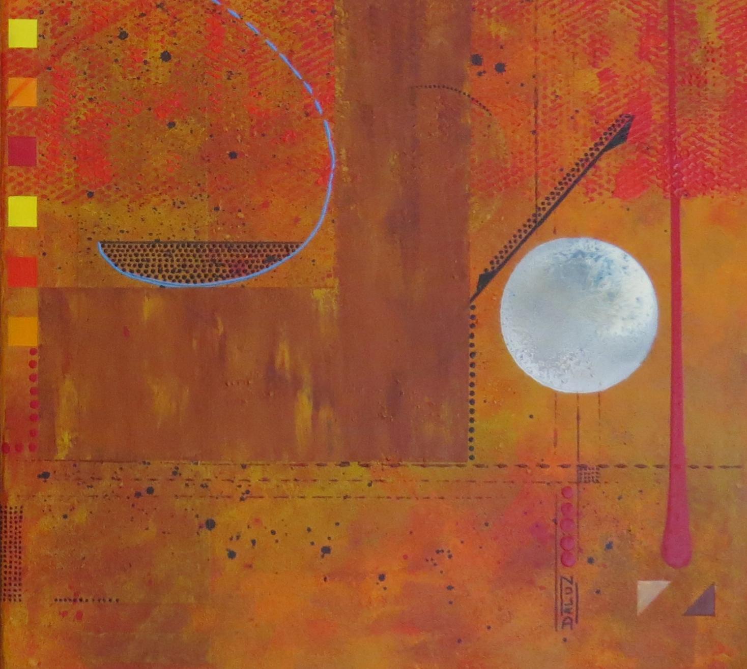 thêta - zoom4 - DALUZ GALEGO - peinture abstraite