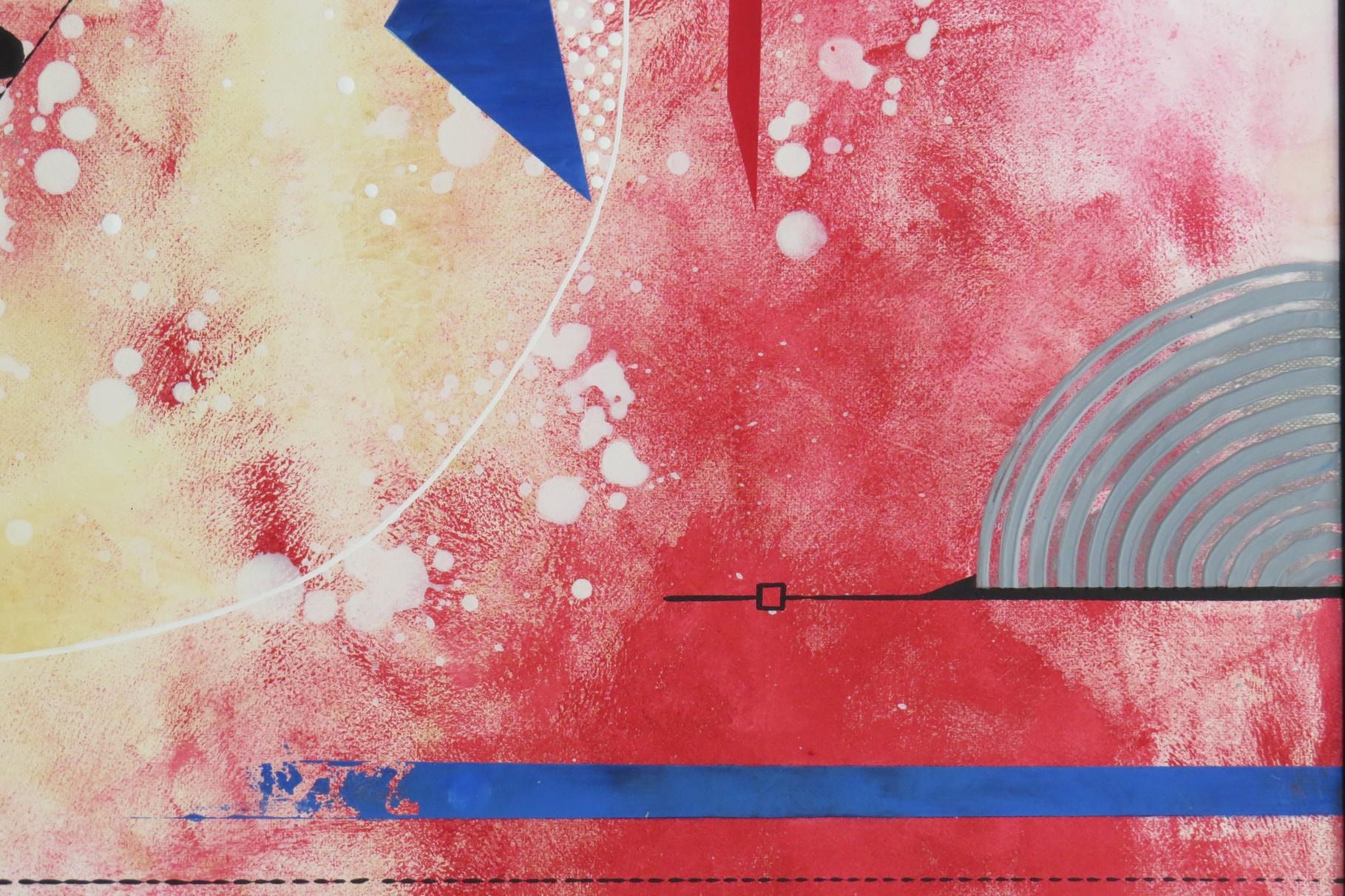 voie de l'art. zoom 3. tableau. abstrait. abstraction