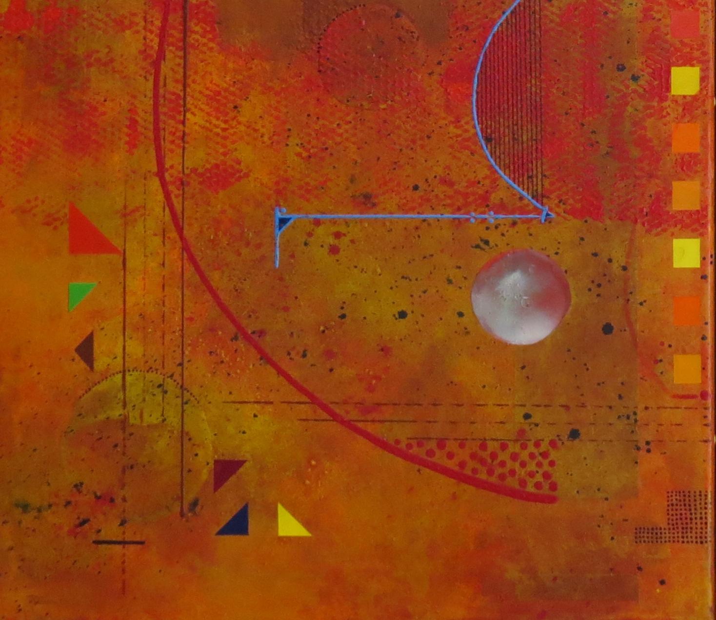 thêta - zoom3 - DALUZ GALEGO - peinture abstraite