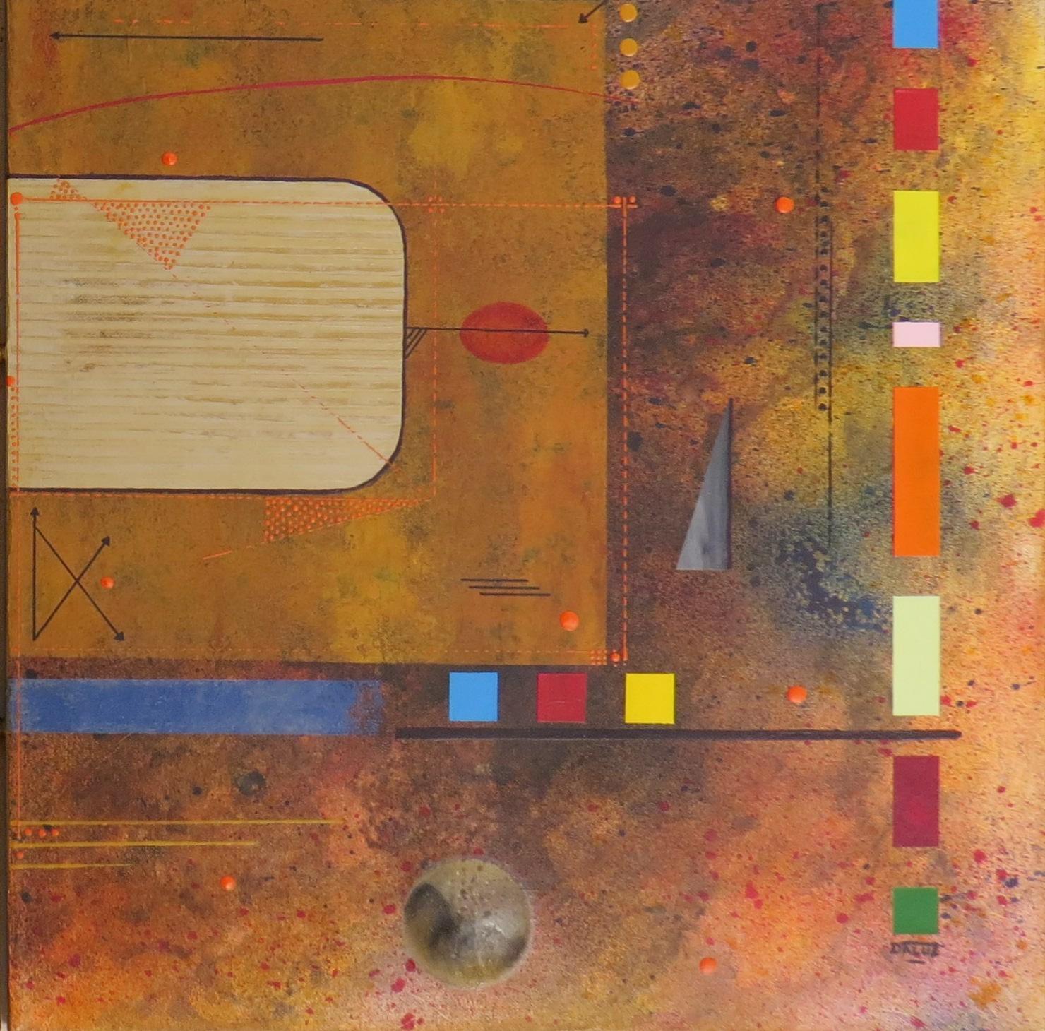 kappa - zoom2 - DALUZ GALEGO - peinture abstraite
