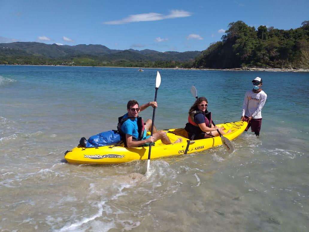 Kayak y Snorkel en Sámara