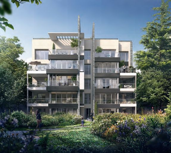 Ensemble Immobilier Neuf à Paris