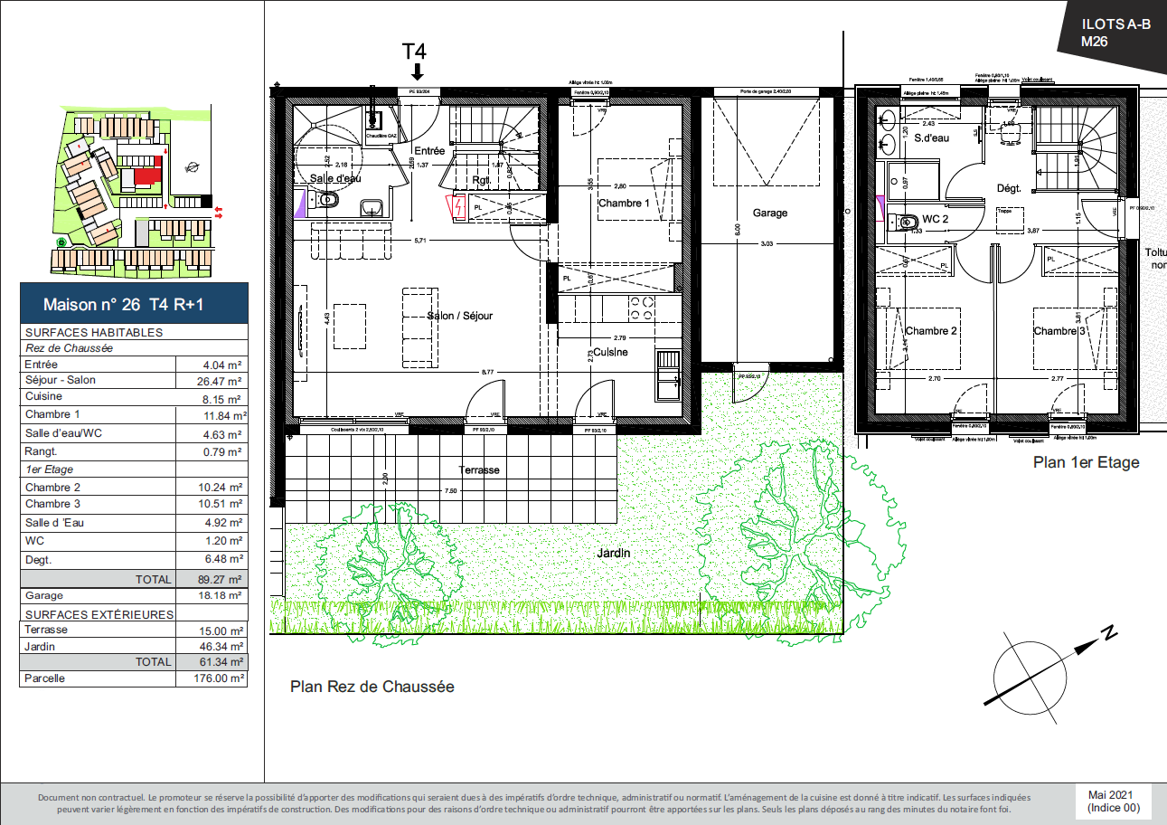 Plan de la Maison 26