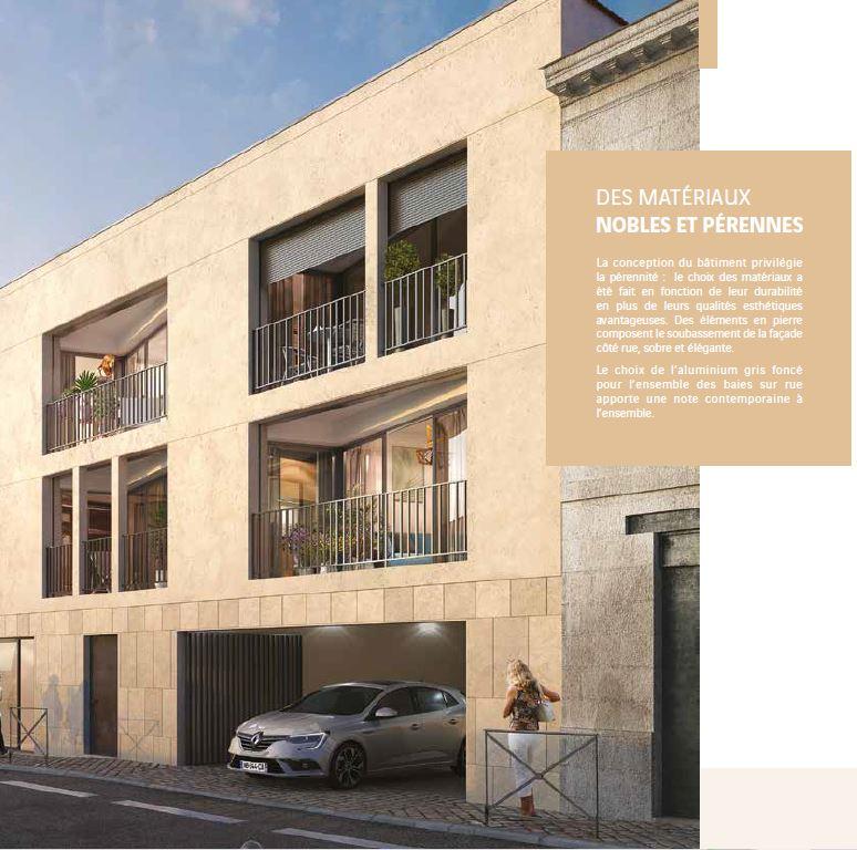 Façade de l'ensemble immobilier neuf à Bordeaux