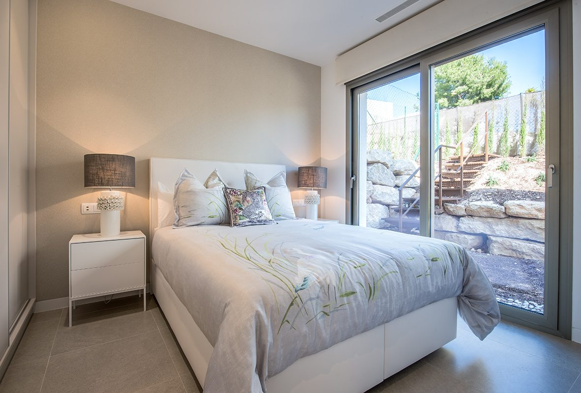 Chambre de la Luxueuse Villa T5 à coté de BENIDORM