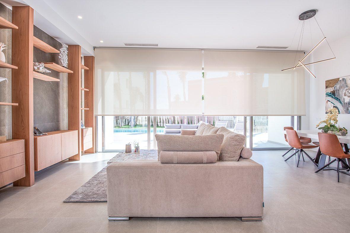 Salon de la Luxueuse Villa T5 à coté de BENIDORM
