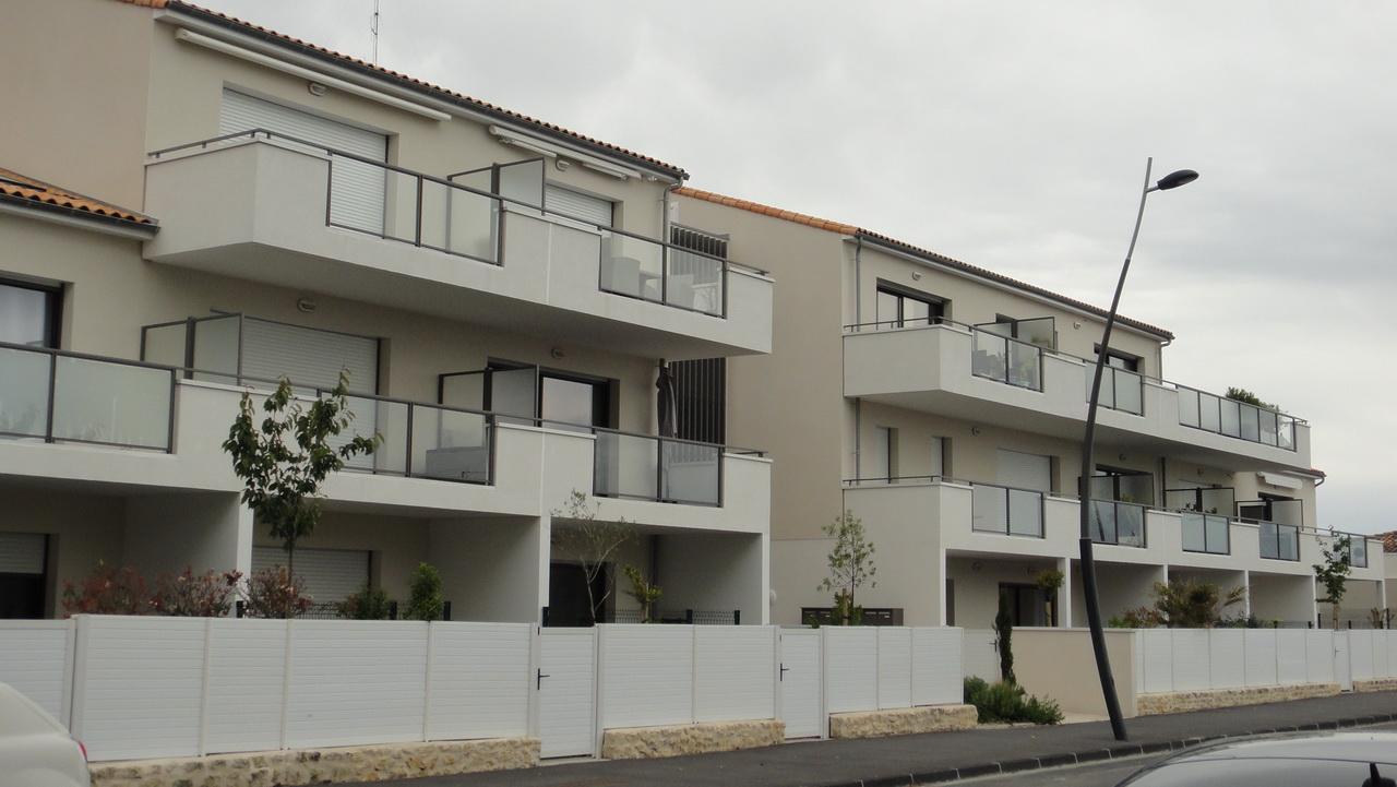 La résidence Espace Mocqueris vue depuis le Nord-Ouest