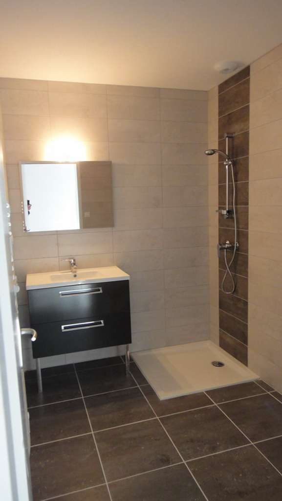 Salle d'eau d'un appartement 2 pièces
