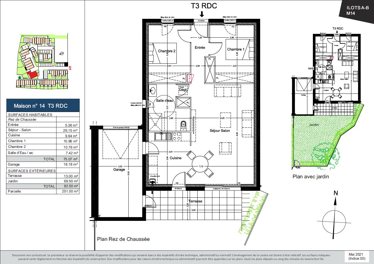 Plan de la Maison 14