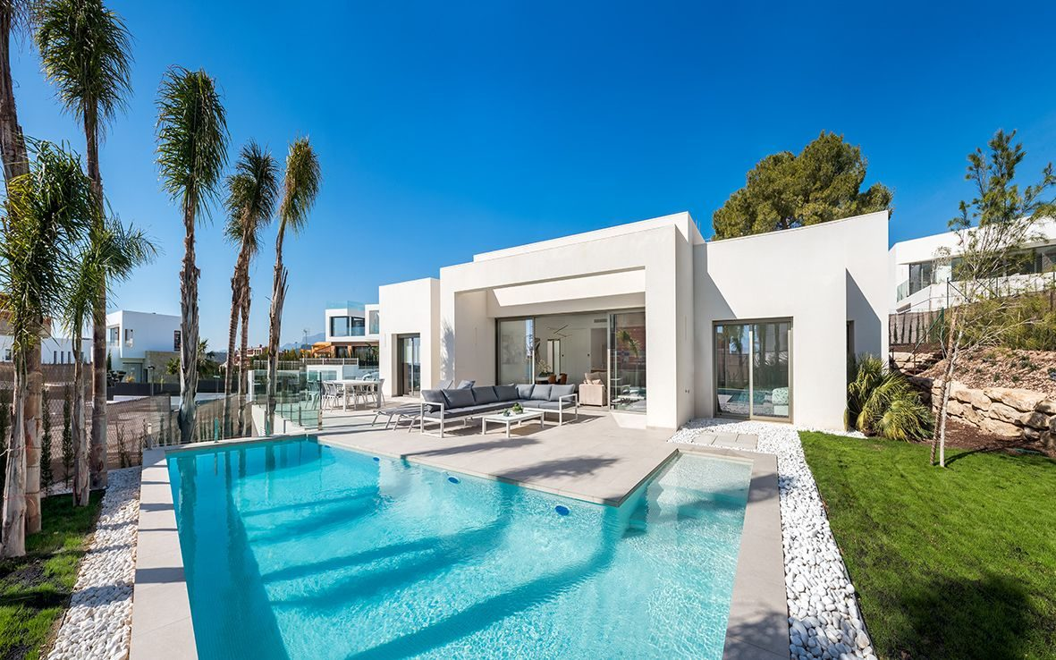 Façade de la Luxueuse Villa T5 à coté de BENIDORM