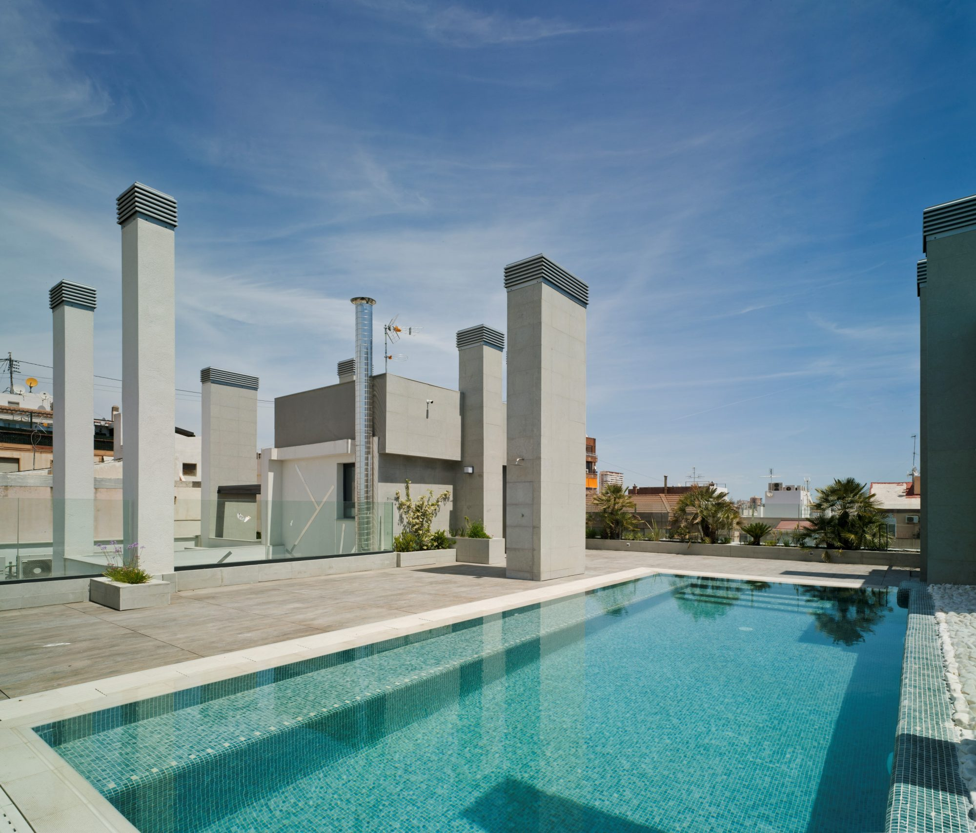 Piscine de l'immeuble Neuf d'Alicante