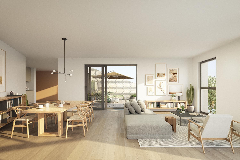 Visuel intérieur d'un appartement