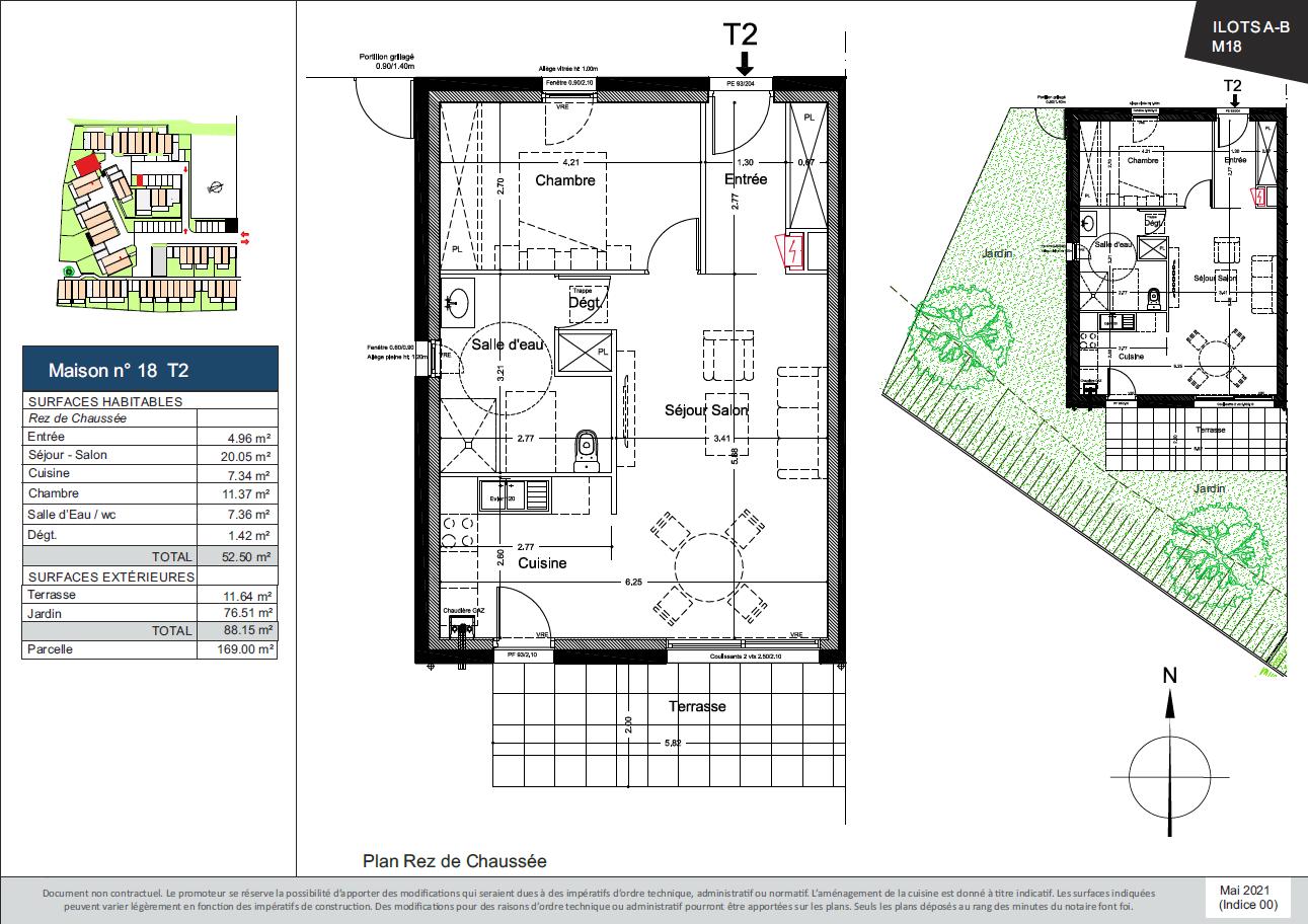 Plan de la Maison 18