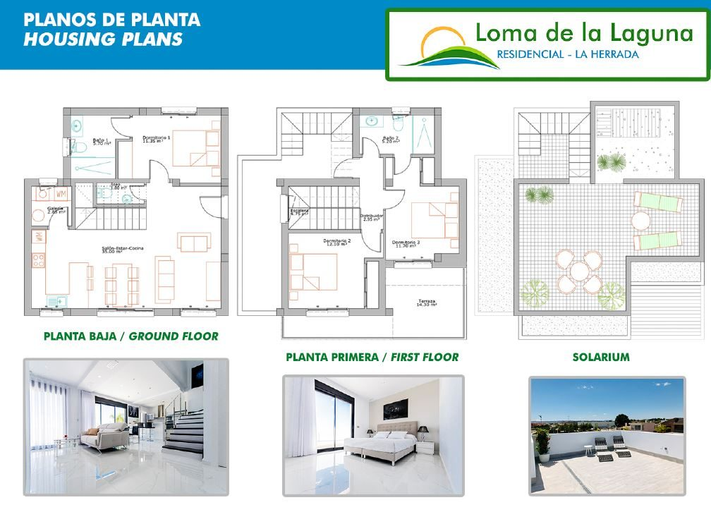 Plan de la Villa T4 en ESPAGNE